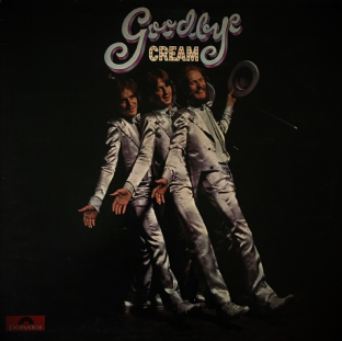 Cream ‎- Goodbye (LP) (G/G)